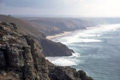 Anglia, Cornwall, St Agnes Zdjęcia Stock