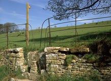 Anglia, Cotswold kamienia przełaz obraz stock