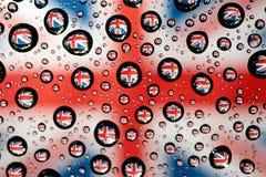 Anglia flaga Obrazy Royalty Free