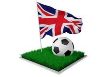 Anglia piłka nożna Zdjęcie Royalty Free