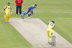 2012 Anglia v Australia 4th jeden dnia zawody międzynarodowi Zdjęcia Royalty Free