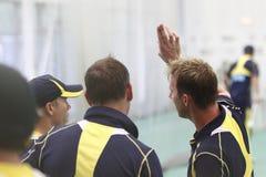 2012 Anglia v Australia 4th jeden dnia zawody międzynarodowi sieci sesje Obrazy Stock