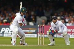 2012 Anglia v Południowa Afryka meczu reprezentacji narodowych 3rd dzień 1 Obraz Stock