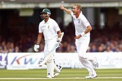 2012 Anglia v Południowa Afryka meczu reprezentacji narodowych 3rd dzień 2 Fotografia Stock