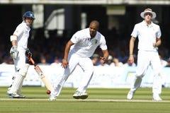 2012 Anglia v Południowa Afryka meczu reprezentacji narodowych 3rd dzień 2 Obrazy Stock