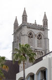 Anglican cathedral in Hamilton. Bermuda Stock Photography