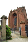 Anglican Cathedral in Liverpool Stock Image