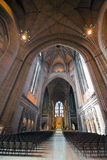 Anglican cathedral in Liverpool Stock Photos