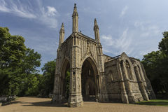 Anglican Chapel, Nunhead Cemetery Stock Image