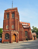The Anglican Church. Is a church located in central Bucharest, Romania stock image