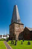 Anglican Church. St Dubricius Anglican Church, Porlock, Somerset, England UK Stock Images