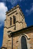 Anglican church. A steeple of a sandstone anglican shurch Stock Photos