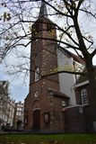 Anglican Church at the Begijnhof in Amsterdam Stock Images