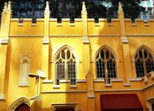 The anglican church exterior Royalty Free Stock Photography