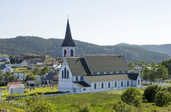 Anglican church in Newfoundland Stock Image
