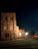 Anglican Church by night Stock Image
