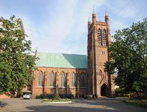 Anglican Church of Saint Andrew in Moscow Stock Photo