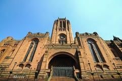 anglican katedra Liverpool Zdjęcie Royalty Free