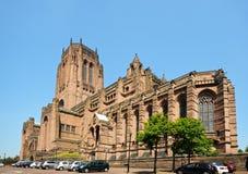 anglican katedra Liverpool Obraz Stock
