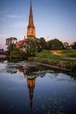 Anglicankyrka för St Alban Royaltyfria Foton