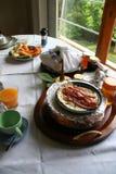 anglicy śniadanie Zdjęcie Royalty Free
