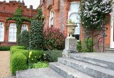 anglicy uprawiają manor otwarcie widok zdjęcia royalty free