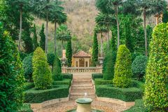 anglików ogródu styl Obraz Royalty Free