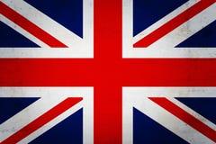 anglik flagę Obraz Royalty Free