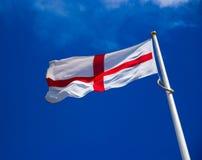 anglik flagę Zdjęcie Stock