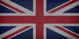 anglik flagę Obraz Stock