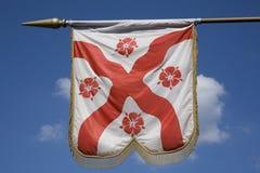 anglik flaga fotografia stock