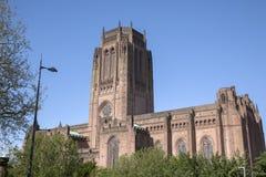 Anglikańska katedra, Liverpool Obrazy Royalty Free