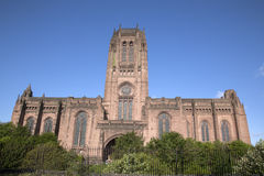 Anglikańska katedra, Liverpool Obraz Royalty Free