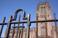 Anglikańska katedra, Liverpool Zdjęcie Royalty Free