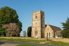 Anglikanische Dreifaltigkeitskirche - langes Newnton, Gloucestershire stockfotografie