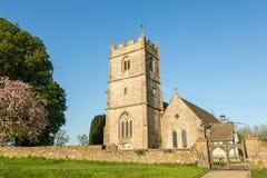 Anglikanische Dreifaltigkeitskirche - langes Newnton, Gloucestershire lizenzfreies stockfoto
