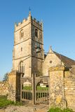 Anglikanische Dreifaltigkeitskirche - langes Newnton, Gloucestershire stockfoto