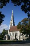 Anglikanische Kirche in Kopenhagen Stockfotografie