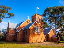 Anglikanische Kirche von Australien in York, West-Australien stockbilder