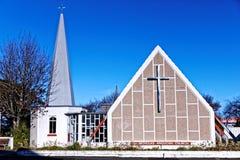 Anglikansk kyrka, Christchurch Nya Zeeland Arkivbilder