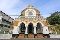 Anglikansk kyrka för Galle fort` s - arv för Sri Lanka UNESCOvärld Arkivfoto