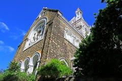 Anglikansk kyrka för Galle fort` s - arv för Sri Lanka UNESCOvärld Arkivbild