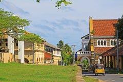 Anglikansk kyrka för Galle fort` s - arv för Sri Lanka UNESCOvärld Royaltyfri Foto