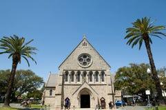 Anglikansk kyrka för St John ` s - Fremantle - Australien arkivfoto