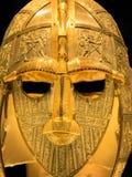 Anglo saxisk hjälm royaltyfri foto