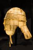 Anglo Saxon helmet Stock Photo