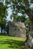 Anglo skotsk gräns Bastle Royaltyfria Bilder