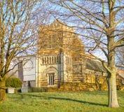 Anglonormański kościół zdjęcie royalty free