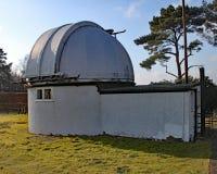 Anglonormański Lockyer obserwatorium blisko Sidmouth w Devon Lockyer był amatorskim astronomem i jest częścią kredytującym z odkr zdjęcia stock