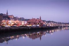 Anglonormański miasteczko trouville France Zdjęcia Stock